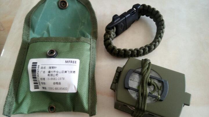 MFREE 户外罗盘指南针 指北针 登山 定向越野 户外工具 军绿色 晒单图