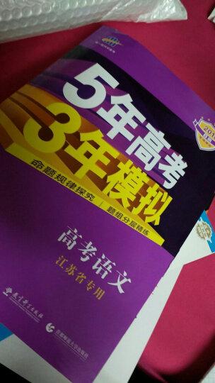 2020新版曲一线53B版五年高考三年模拟高考语文江苏省专用2019年真题 晒单图