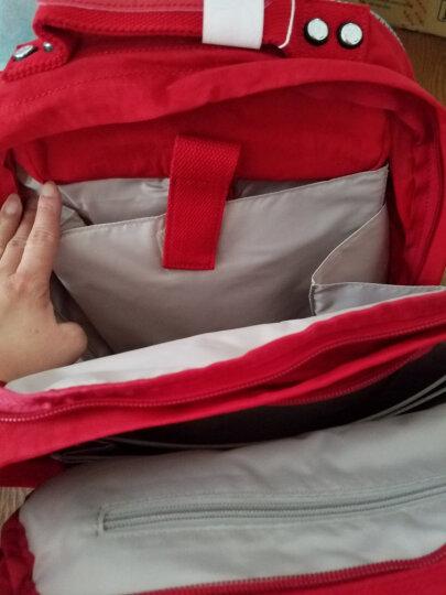 凯浦林 Kipling 女士双肩包 玫红色 K13612 46H 晒单图
