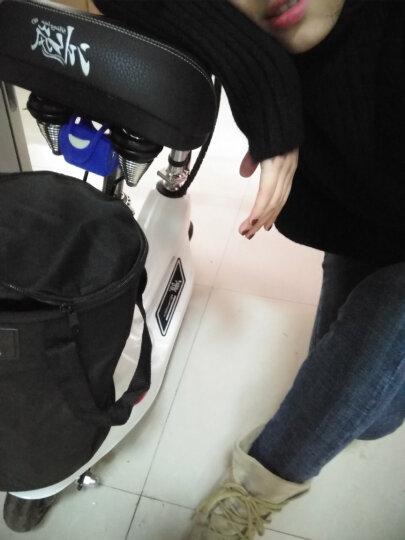 冰岚(Binglan) 电动车 小海豚电动滑板车 迷你折叠车女士自行车代步车电瓶车锂电池 报警器 加装报警器 晒单图
