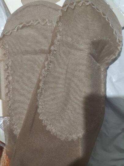 梦娜10双 夏季短丝袜女式包芯丝棉底丝袜 防滑防钩丝耐穿吸汗透气袜袜子女 3肤3黑2灰2咖啡 均码 晒单图