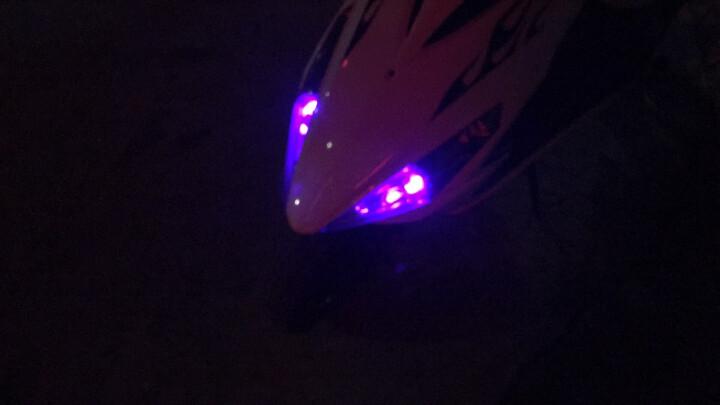 魅星 汽车摩托车彩灯改装配件鬼火仪表灯 地平线跑车小灯T10 转向灯泡转弯灯 LED插泡 9灯绿色一对两只 晒单图