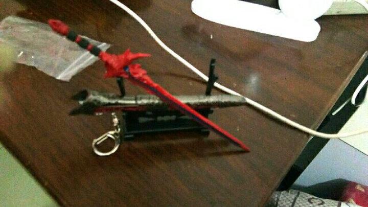 2018中国古代挂件 八面汉模型钥匙扣1 长生枪色16.5厘米 晒单图