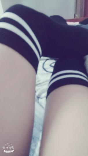 茗门卡淇 日本女学生装水手服夏JK制服校服班服日系短袖英伦海军风COS套装 C22 白色上衣+黑领子+黑裤裙 M    80-105斤 晒单图