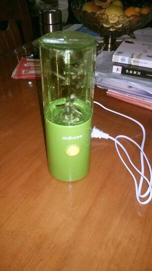 多乐(duole) 榨汁机迷你便携式电动榨汁杯家用炸果汁机多功能小型果蔬搅拌机DL-351 绿色 晒单图