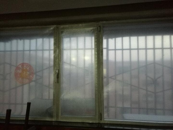卉之萱 园艺冬季玻璃保温膜防寒窗户保温膜保暖贴防风隔热膜气泡玻璃贴膜加厚 1.73*1.38米加魔术贴 晒单图