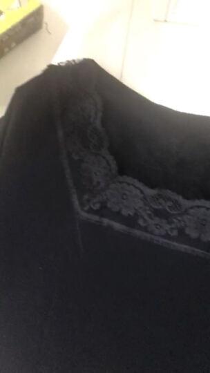 秋季网纱打底衫女长袖t恤修身蕾丝2017新款上衣小衫大码纱衣外穿 咖啡色薄款 L 晒单图