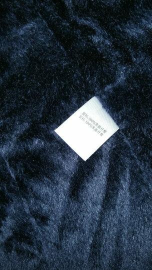 牧蚁人 棉衣男冬季户外加厚加绒棉袄宽松大码带帽男装棉服外套LH2836 8186宝蓝 XL 晒单图