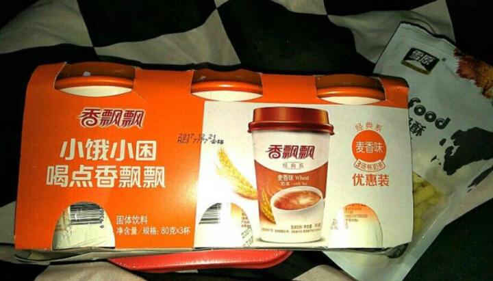 香飘飘奶茶 焦糖仙草味奶茶三连杯82g*3杯  休闲冲饮品 晒单图