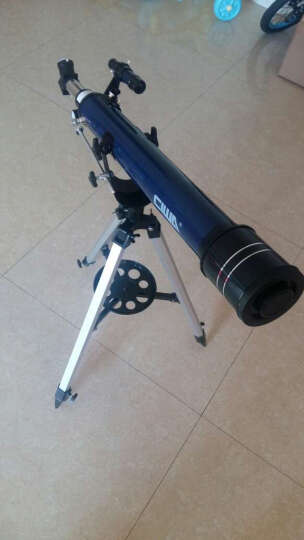 西湾(CIWA) 天文望远镜专业学生儿童高清高倍 70AZ 套餐4 数码相机摄影版 晒单图