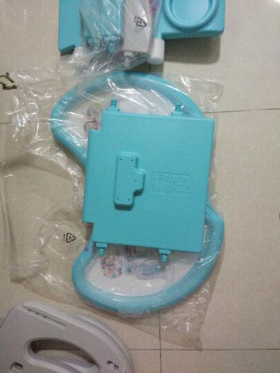 宝贝第一(Babyfirst)QQ咪多功能两用托盘儿童宝宝餐椅婴儿吃饭椅子餐桌椅 几何空间 晒单图