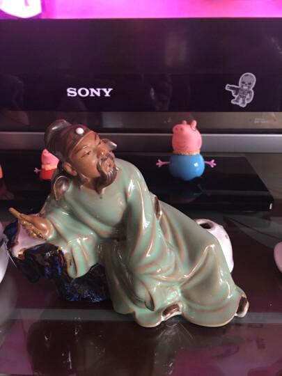 美吔 现代中式家居风格客厅电视柜书房书桌装饰品摆件 古典陶瓷人物雕塑 诗仙李白 晒单图