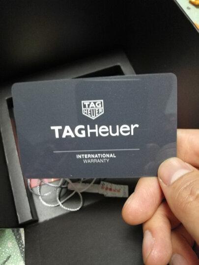 泰格豪雅(TAG Heuer)瑞士手表 竞潜男士系列机械男表WAY2013.BA0927 晒单图