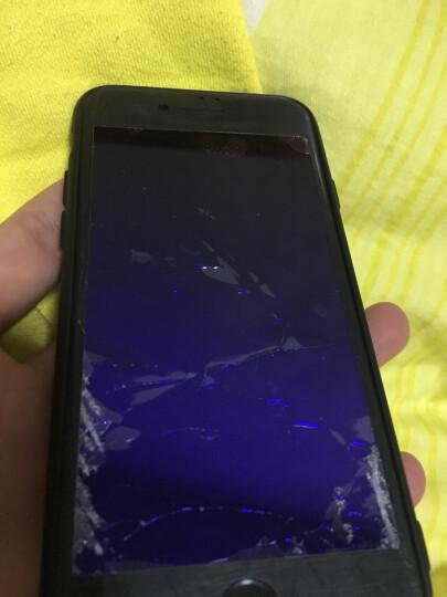 图拉斯 iPhone7/6s/8钢化膜苹果7Plus全屏全覆盖6D抗蓝光防爆玻璃手机贴膜 苹果7/8【黑色】高清款 晒单图
