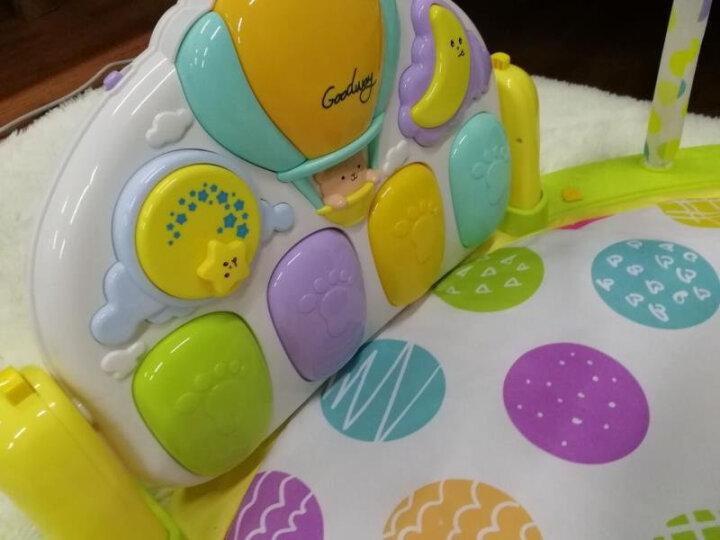 谷雨婴儿音乐床铃星空投影脚踏钢琴健身架  新生儿0-3-12个月多功能游戏毯早教益智玩具 两充充电套装+螺丝刀(赠品勿拍) 晒单图