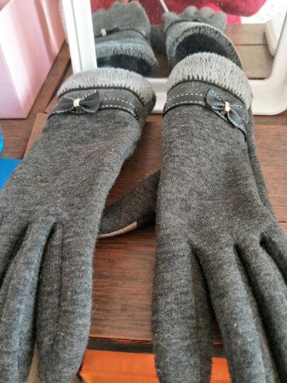汤米伍德 新款防晒袖套夏季开车冰袖子薄网纱袜遮阳脚套两用冰丝手套蕾丝金银丝 浅灰 晒单图