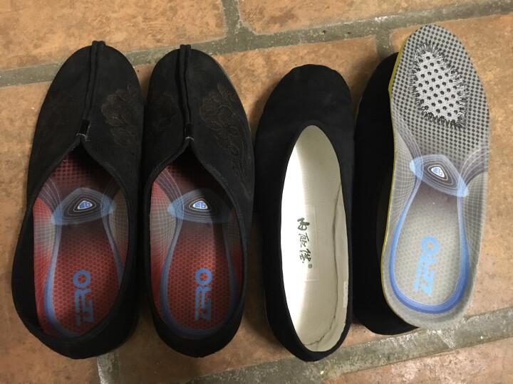 零度(ZERO)健康鞋垫男 男女款磁石红外线舒适透气功能鞋配件 D7303CE 枣红 40 晒单图