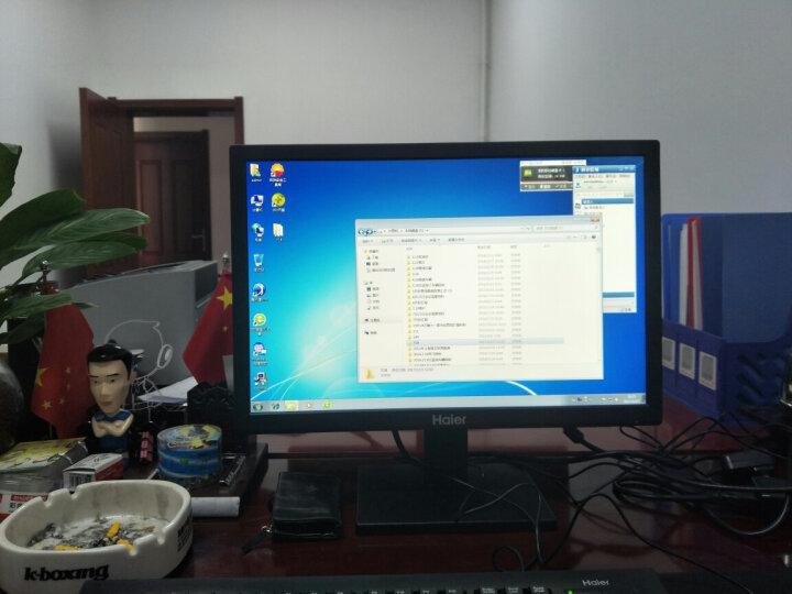 海尔(Haier)天越H5 商用台式办公电脑整机(7代I3-7100 4G DDR4 500G 双频WiFi 蓝牙 正版Win10)19.5英寸IPS 晒单图