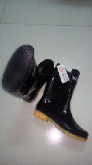 回力雨鞋防水鞋  男鞋户外 中筒套鞋H807B 迷彩高筒不加绒 42 晒单图
