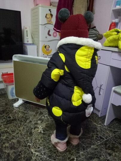 艾美特(AIRMATE) 取暖器欧式快热电暖炉宝宝婴儿浴室防水速热壁挂暖气扇暖风机烤火炉 灰色 晒单图