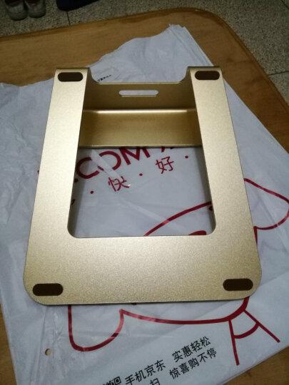 埃普(UP)AP-1铝合金笔记本散热器支架(金色)苹果小米通用型笔记本电脑支架 桌面办公爱护颈椎 晒单图
