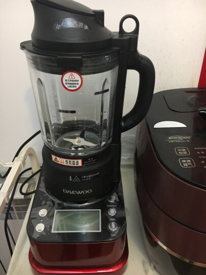 【618提前抢】韩国IH加热智能破壁机家用 辅食机 料理机 榨汁机 豆浆机 Q81 至臻银 晒单图