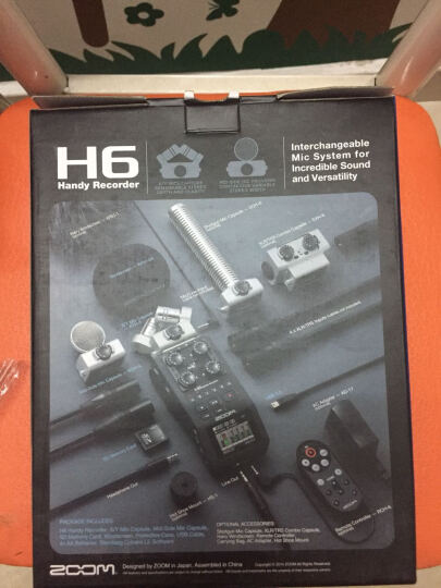 ZOOM H6 新闻采访 便携手持录音机 数字音频接口  纸质中文说明 晒单图