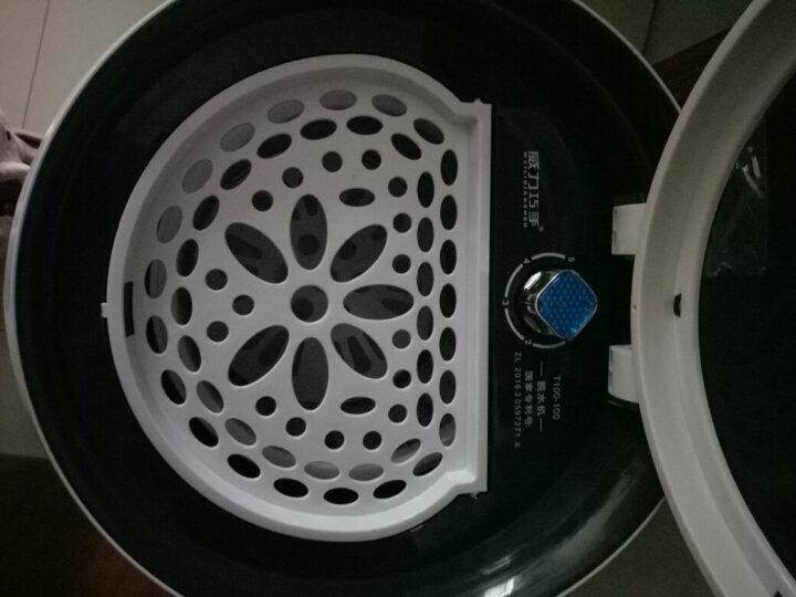 威力巧手(WEILIQIAOSHOU) 10公斤脱水机甩干机 不锈钢单筒迷你家用干衣机 10kg 少女粉 晒单图