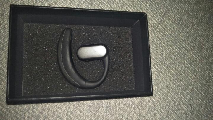 依魅 911 可换电池商务无线蓝牙耳机4.1运动音乐车载迷你蓝牙通用苹果小米华为三星手机 亮黑-双电池 HiFi音效 晒单图
