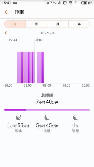 荣耀手表S1月光银 蓝色长腕带(时尚智能穿戴手表手环 运动心率监测 50米游泳防水 跑步指导 睡眠监测) 晒单图