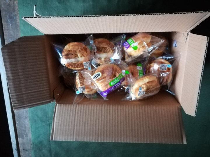 口口妙 手撕面包整箱800g*2箱香蕉牛奶小面包早餐点心蒸蛋糕零食大礼包 酸奶提子味2箱 晒单图