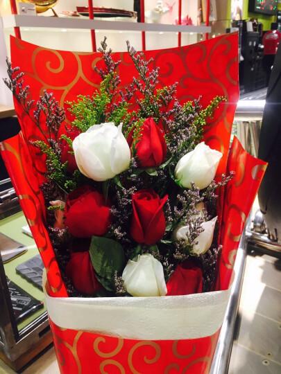花宿名家 鲜花速递 生日鲜花红玫瑰花束快递全国花店送花11朵红玫瑰鲜花  鲜花绿植 款式十四11枝红玫瑰1支百合礼盒 非节日价格 晒单图