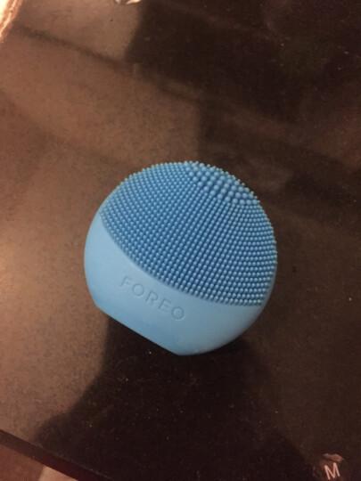 斐珞尔(FOREO)洁面仪 小型硅胶电动清洁毛孔 洗脸仪非充电型 露娜玩趣版 LUNA PLAY 海军蓝 晒单图