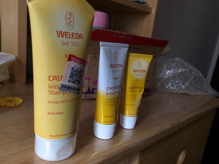 维蕾德(WELEDA) 儿童洗发水沐浴露二合一金盏花婴儿洗护乳液无泪配方 200ml*1瓶 晒单图