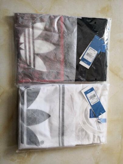 阿迪达斯adidas 官方 三叶草 男子 短袖上衣 白 BS3136 如图 L 晒单图