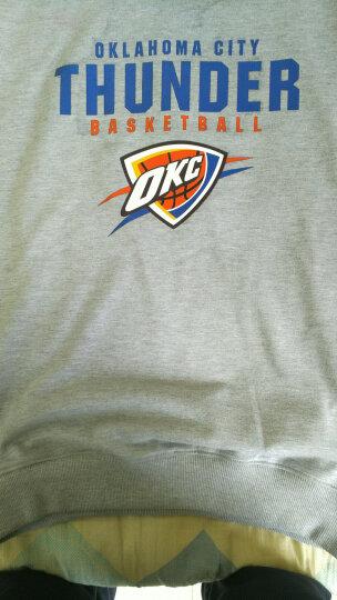 卡致 2018新赛季NBA篮球卫衣球衣 男士棉质运动圆领套头 杜兰特库里詹姆斯篮球训练服 湖人队24号科比A黑色 L 晒单图