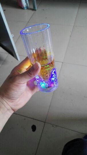 尤布乐 感应杯 啤酒杯 杯子 酒杯 男送女朋友 LED七彩炫彩闪光杯 发光杯 夜光杯1 双龙戏珠杯 晒单图