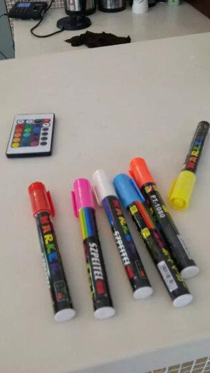 御杰 充电宝可用LED电子荧光板7090支架一体式广告牌发光黑板手写板电子屏 荧光板+大号笔+中号笔+小号笔+充电宝套装 晒单图