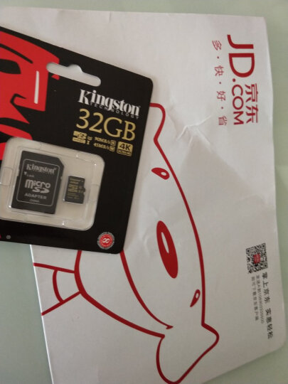 金士顿(Kingston)32GB 90MB/s TF(Micro SD)Class3 UHS-I高速存储卡 晒单图