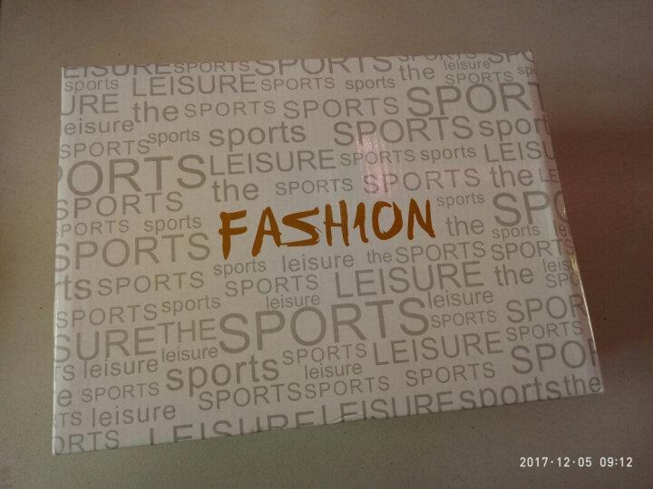 科美威(KEMEIWEI) 男士运动鞋 跑步鞋女式春夏季新款青少年跑鞋休闲学生情侣旅游鞋棉鞋 白色-816单鞋  女款 44 晒单图