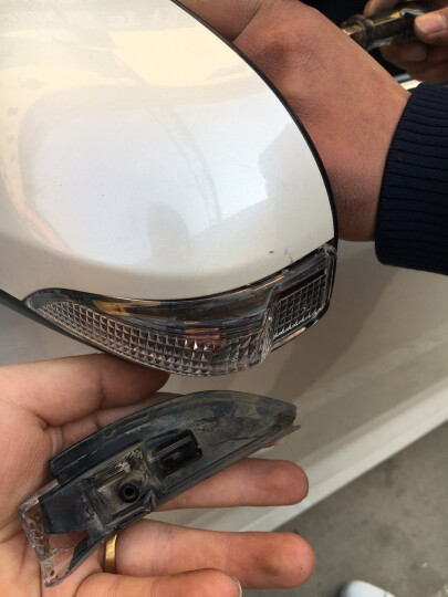 卡伦德 丰田雷凌新款凯美瑞逸致卡罗拉锐志RAV4逸致威驰倒车镜灯后视镜灯罩反光镜转向灯 左右一对 12款经典凯美瑞 晒单图