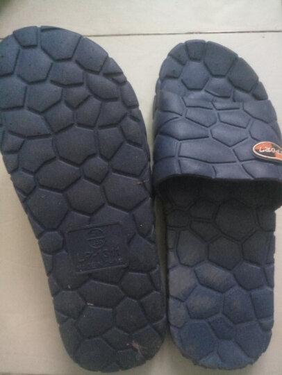 集暖 拖鞋 水立方情侣居家拖女式 紫色38码 晒单图