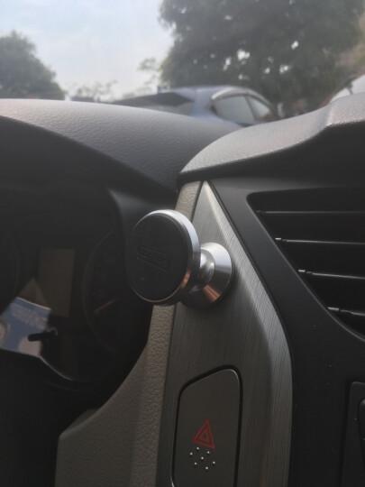图拉斯(TORRAS)车载手机支架 中控台磁吸式汽车用品 适用4-8英寸手机平板导航 亮黑色 晒单图