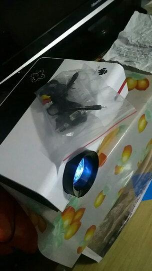 Rigal 瑞格尔RD-808 家用投影仪 高清无线办公投影机 手机投影仪 优雅白 官方标配【无WIFI】 晒单图