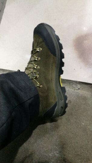 (XINIUPIKA) 登山鞋男夏季新品户外鞋越野徒步旅游鞋防滑耐磨休闲运动鞋 军绿 41 晒单图