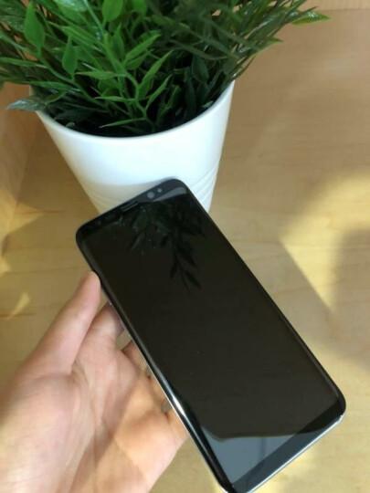 第一卫 三星s8/s9钢化膜S8+/plus手机贴膜全屏全覆盖3D曲面高清抗蓝光防摔玻璃 S8+ 高清款【3D曲面全屏膜 冷雕防指纹】大屏 晒单图