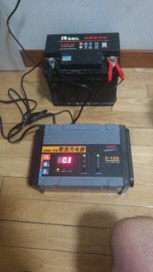 NFA 电瓶充电器 6814N 智能数显汽车车载充电器 家用220W电瓶可修复充电器 12V电瓶全自动/手动双模式充电器  晒单图