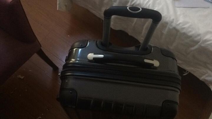 瑞动(SWISSMOBILITY)拉杆箱PC+ABS时尚轻盈登机箱旅行行李箱20英寸万向轮MT-5553-06T00蓝色 晒单图