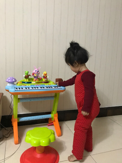 汇乐玩具(HUILE TOYS)早教益智玩具 手指启蒙学习琴927 男孩女孩儿童多功能电子琴宝宝故事机音乐动物认知 晒单图