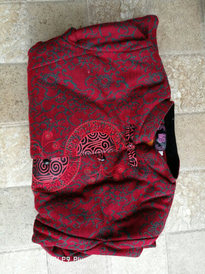 汝惜 奶奶装春装中老年女装外套2018老年人女装新款唐装60-70-80岁老太太服饰上衣 红色春款上衣 2XL(建议105-120斤穿) 晒单图